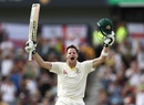 Steven Smith brought up his second double-century in the Ashes, Australia v England, 3rd Test, Perth, 3rd day, December 16, 2017
