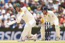 Pat Cummins piles into Moeen Ali's offspin, Australia v England, 3rd Test, Perth, 4th day, December 17, 2017