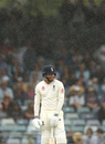 Jonny Bairstow prepares to face as the rain comes down, Australia v England, 3rd Test, Perth, 4th day, December 17, 2017