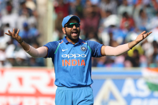 Rohit Sharma wasn't amused by some of the proceedings in the field