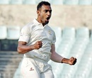 Abhimanyu Mithun's five-wicket haul dismantled Vidarbha, Karnataka v Vidarbha, Ranji Trophy 2017-18, semi-final, day 1, Pune, December 17, 2017