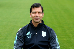 Vikram Solanki is currently on the coaching staff with Surrey
