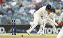 Jonny Bairstow confirms his fate after the ball kept low, Australia v England, 3rd Test, Perth, 5th day, December 18, 2017