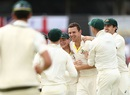 Magic man: Everyone wanted a piece of Josh Hazlewood, Australia v England, 3rd Test, Perth, 5th day, December 18, 2017
