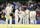 That lonely feeling: James Anderson wanders off as Australia seal the Ashes, Australia v England, 3rd Test, Perth, 5th day, December 18, 2017