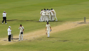 A contrast of emotions as the Perth Test ends