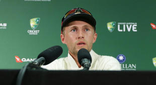 Joe Root faces up to an Ashes defeat