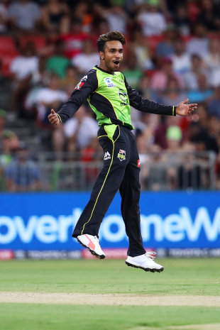 Arjun Nair aced the levitation act after sniping out two Sydney Sixers wickets