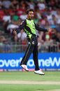Arjun Nair aced the levitation act after sniping out two Sydney Sixers wickets, Sydney Thunder v Sydney Sixers, Big Bash League 2017-18, Sydney, December 19, 2017