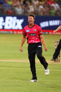 Daniel Sams celebrates, Sydney Thunder v Sydney Sixers, Big Bash League 2017-18, Sydney, December 19, 2017