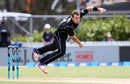 Doug Bracewell struck twice in his first over, New Zealand v West Indies, 1st ODI, Whangarei, December 20, 2017
