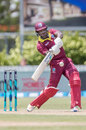 Rovman Powell swings across the line, New Zealand v West Indies, 1st ODI, Whangarei, December 20, 2017