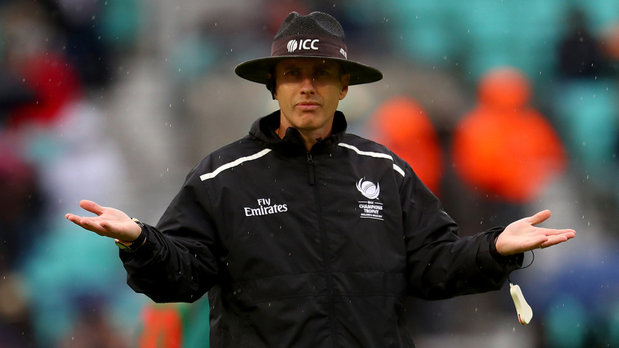 Why are umpires first made to see if play can resume before the revised targets are looked at?