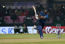 Kusal Perera hammers one to wide long-on, India v Sri Lanka, 2nd T20I, Indore, December 22, 2017