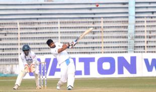 Farhad Reza hits over the top