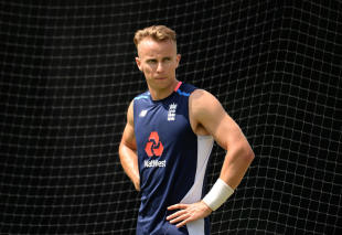 Tom Curran nets for England ahead of a potential Test debut at the MCG