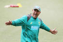 Australia's coach Darren Lehmann was in relaxed mood in Australia's practice session ahead of the Melbourne Test, The Ashes 2017-18, Melbourne, December 24, 2017