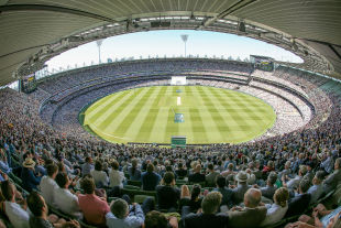 The Melbourne Cricket Ground on Boxing Day