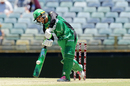Mignon du Preez middles one with aplomb, Perth Scorchers v Melbourne Stars, WBBL 2017-18, Perth, December 26, 2017