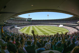 It was a demanding day for a crowd of more than 88,000 at the MCG
