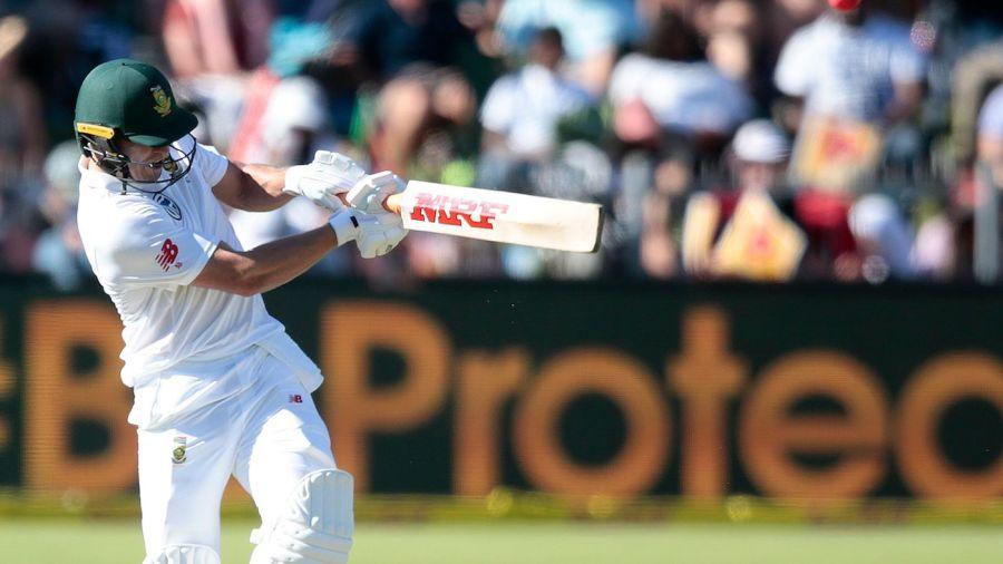 AB de Villiers scored a half-century on his Test return