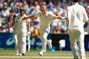 Tom Curran celebrates his first Test wicket...for the second time, Australia v England, 4th Test, 2nd day, Melbourne, December 27, 2017