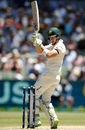Tim Paine under-edged a pull into his own stumps, Australia v England, 4th Test, 2nd day, Melbourne, December 27, 2017