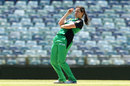 Gemma Triscari reacts to a boundary, Perth Scorchers v Melbourne Stars, Women's Big Bash  League 2017-18, Perth, December 27, 2017