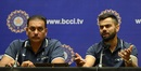 Ravi Shastri and Virat Kohli address the media, Mumbai, December 27, 2017