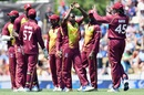 Jerome Taylor took out Martin Guptill early, New Zealand v West Indies, 1st T20I, Nelson, December 29, 2017