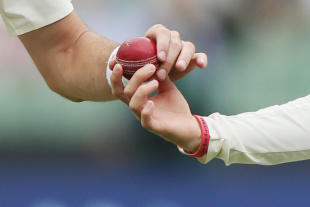 The ball at the centre of the tampering allegations