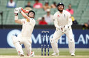 David Warner's innings ended with a skied shot into the off side, Australia vs England, fourth Test, fifth day, December 30, 2017