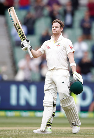 Another raise of the bat for Steven Smith...another hundred