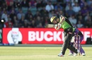 Jos Buttler punished the Hurricanes with a flurry of sixes, Hobart Hurricanes v Sydney Thunder, Big Bash League 2017-18, Launceston, December 30, 2017
