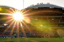 The sun sets over Adelaide Oval, Adelaide Strikers v Brisbane Heat, bbl 2017-18, Adelaide, December 31, 2017