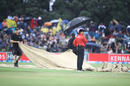 Rain delayed the start by 20 minutes, New Zealand v West Indies, 2nd T20I, Mount Maunganui, January 1, 2018