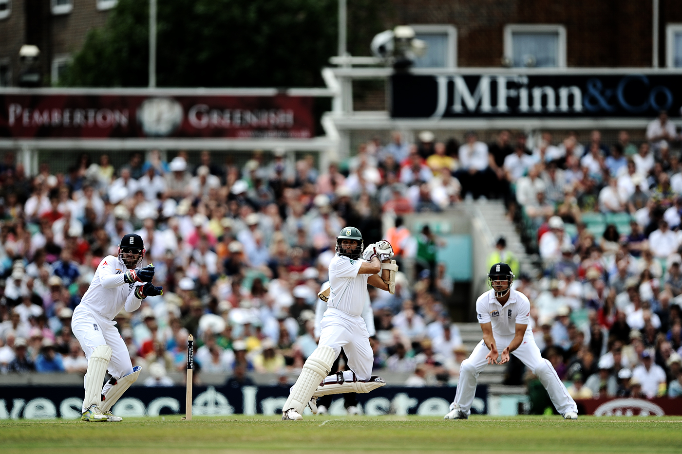 First triple-century by a South African in Tests? That would be Amla, at The Oval in 2012