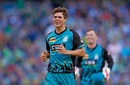 Mitchell Swepson claimed three wickets, Melbourne Stars v Brisbane Heat, BBL 2017-18, Melbourne, January 2, 2018