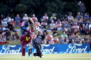 Colin Munro launches one high and far, New Zealand v West Indies, 3rd T20I, Mount Maunganui