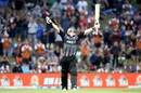 Colin Munro soaks in his third T20I hundred, New Zealand v West Indies, 3rd T20I, Mount Maunganui