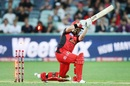 Melbourne Renegades lost Marcus Harris early in their chase, Melbourne Renegades v Sydney Sixers, Big Bash League 2017-18, Victoria, January 3, 2018