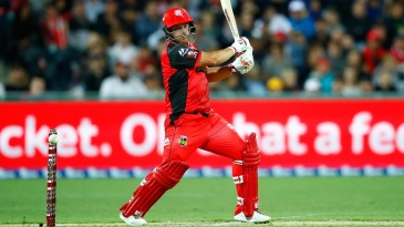 Aaron Finch hastened Renegades' victory push with a 38-ball half-century