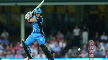 Colin Ingram slashes one through the off side