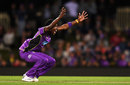 Jofra Archer appeals, Hobart Hurricanes v Adelaide Strikers, Big Bash League 2017-18, Hobart, January 4, 2018
