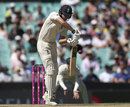 Dawid Malan fell for a hard-fought 62, Australia v England, 5th Ashes Test, Sydney, 2nd day, January 5, 2018