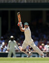 David Warner batted in a cap when England bowled two spinners, Australia v England, 5th Ashes Test, Sydney, 2nd day, January 5, 2018