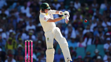Steven Smith latches onto a pull