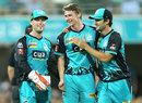 Brendan Doggett claimed a five-wicket haul, Brisbane Heat v Perth Scorchers, BBL 2017-18, Brisbane, January 5, 2017