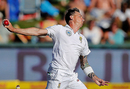 Dale Steyn gets into his delivery stride, South Africa v India, 1st Test, Cape Town, 1st day, January 5, 2017
