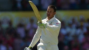 Usman Khawaja took his innings past 150